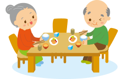 介護老人福祉施設しろやま食事