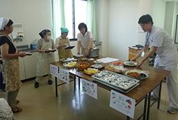 糖尿病教室料理